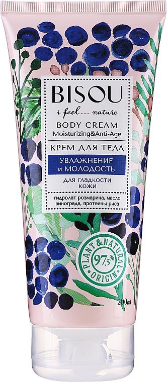 Crème à la vitamine E pour corps - Bisou Moisturizing and Anti-Age Body Cream