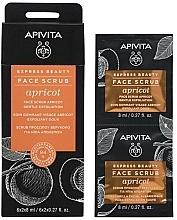 Parfums et Produits cosmétiques Gommage à l'abricot pour visage - Apivita Express Beauty Face Scrub Apricot