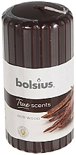 Parfums et Produits cosmétiques Bougie parfumée, Bois d'Oud, 120/58 mm - Bolsius True Scents Candle