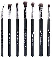 Parfums et Produits cosmétiques Set de pinceaux yeux - Nanshy Eye Brush Set Onyx Black