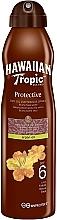 Parfums et Produits cosmétiques Huile sèche bronzante pour corps - Hawaiian Tropic Protective Dry Oil Continuous Spray Aragan Oil SPF 6