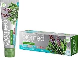 Parfums et Produits cosmétiques Dentifrice bio aux herbes - Biomed Biocomplex