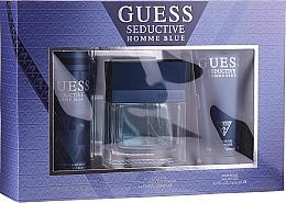 Parfums et Produits cosmétiques Guess Seductive Homme Blue - Set homme (eau de toilette/100ml + déodorant vaporisateur/226ml + gel douche/200ml)