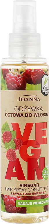 Après-shampooing spray à l'extrait de framboise - Joanna Vegan Vinegar Hair Spray Conditioner