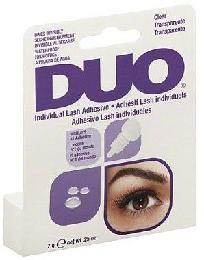 Colle transparente et waterproof pour faux-cils individuels - Duo Individual Lash Adhesive