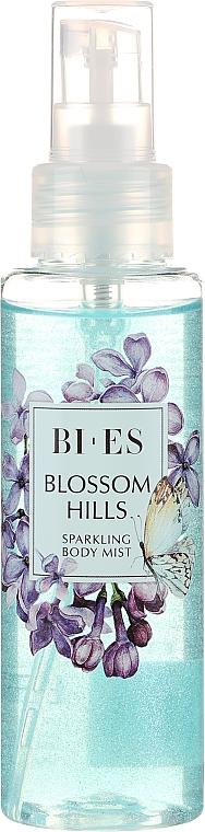 Bi-es Blossom Hills Sparkling Body Mist - Brume parfumée avec paillettes pour corps