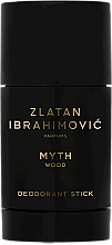 Parfums et Produits cosmétiques Zlatan Ibrahimovic Myth Wood - Déodorant stick