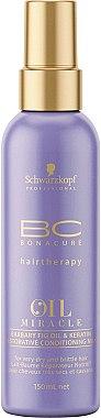 Lait à la kératine et huile de figue de barbarie pour cheveux - Schwarzkopf Professional Bonacure Oil & Micro Keratin Milk