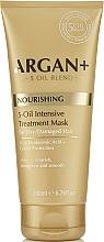 Parfums et Produits cosmétiques Masque à l'acide hyaluronique pour cheveux - Argan + Nourishing 5-Oil Intensive Treatment Mask