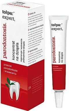 Gel gingival pour gencives sensibles - Tolpa Expert Parodontosis Concentrate For Gums