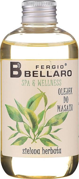 Huile de massage pour corps,Thé vert - Fergio Bellaro Massage Oil Green Tea