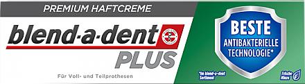 Crème adhésive pour prothèse dentaire - Blend-A-Dent Premium Adhesive Cream Plus Dual Protection Fresh
