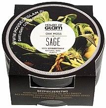 Parfums et Produits cosmétiques Bougie parfumée de soja et cire d'abeille - House of Glam Oak Moss Sage Candle (mini)