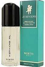 Parfums et Produits cosmétiques Worth Je Reviens - Eau de Toilette