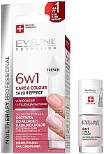 Parfums et Produits cosmétiques Revitalisant coloré pour ongles - Eveline Cosmetics Nail Therapy Professional