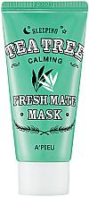 Parfums et Produits cosmétiques Masque de nuit à l'arbre à thé pour visage - A'pieu Fresh Mate Tea Tree Mask