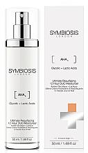 Parfums et Produits cosmétiques Crème aux acides lactique et glycolique pour visage - Symbiosis London Ultimate Resurfacing 12 Hour DUO Moisturiser