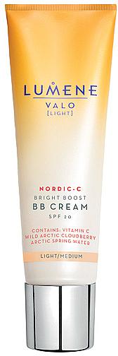 BB crème éclaircissante au chicouté arctique - Lumene Valo Bright Boost BB Cream SPF20