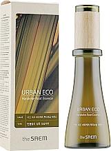 Parfums et Produits cosmétiques Essence en ampoule à l'extrait de lin de Nouvelle-Zélande pour visage - The Saem Urban Eco Harakeke Root Essence
