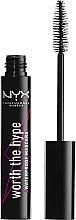 Parfums et Produits cosmétiques Mascara waterproof - NYX Professional Makeup Worth The Hype Waterproof Mascara