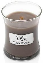 Parfums et Produits cosmétiques Bougie parfumée en jarre avec mèche en bois, Sable et Bois flotté - WoodWick Hourglass Candle Sand & Driftwood