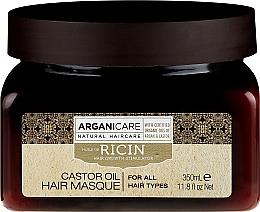 Parfums et Produits cosmétiques Masque à l'huile de ricin pour cheveux - Arganicare Castor Oil Hair Masque