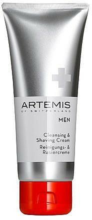 Crème à raser - Artemis of Switzerland Men Cleansing & Shaving Cream