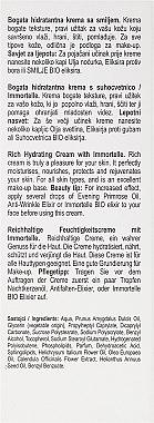 Crème à l'immortelle pour visage - Nikel Rich Hydrating Cream with Immortelle — Photo N3