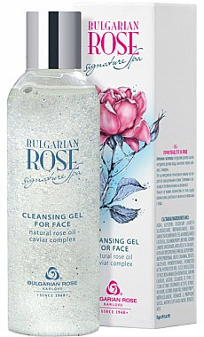 Gel nettoyant à l'huile de rose naturelle pour visage - Bulgarian Rose Signature Cleaning Gel — Photo N1