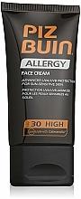 Parfums et Produits cosmétiques Crème solaire pour visage - Piz Buin Allergy Face Cream SPF30