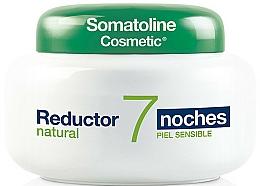 Parfums et Produits cosmétiques Crème-gel de nuit au sel de mer et extrait de bouleau pour corps - Somatoline Cosmetic Reducer 7 Nights Natural