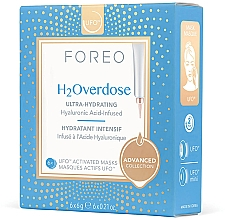 Parfums et Produits cosmétiques Masque à l'acide hyaluronique pour visage - Foreo Ufo H2Overdose Mask