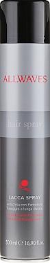 Laque cheveux fixation ultra forte enrichi en panthénol - Allwaves Hair Spray