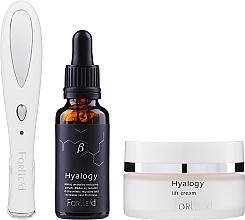 Parfums et Produits cosmétiques Zestaw - Forlle'd Smart Face Care (f/cr/50g + f/ser/30ml + beauty device/1pc)