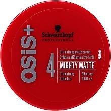 Parfums et Produits cosmétiques Crème matifiante ultra-forte - Schwarzkopf Professional Osis+ Mighty Matte Cream