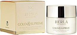 Parfums et Produits cosmétiques Soin visage régénérant et rajeunissant enrichi en particules d'or pur 24k - Herla Gold Supreme 24K Gold Rejuvenating Face Mask With Pure Gold Flakes