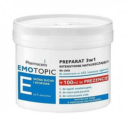 Soin émollient relipidant 3-en-1pour corps - Pharmaceris E Lipid-Replenishing Formula 3in1