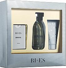 Parfums et Produits cosmétiques Bi-Es Brossi - Coffret (eau de toilette 100ml + eau de parfum 15ml + gel douche 50ml)