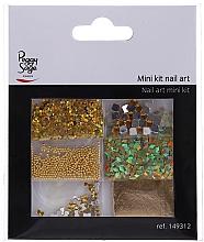 Parfums et Produits cosmétiques Kit de décorations pour ongles, 149312 - Peggy Sage Mini Kit Nail Art (6 pcs)