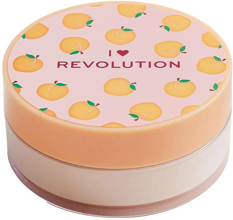 Poudre libre baking pour visage, Pêche - I Heart Revolution Loose Baking Powder Peach