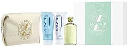Parfums et Produits cosmétiques Lancaster Eau de Lancaster - Coffret cadeau (eau de toilette/125ml + lotion corps/200ml + gel douche/200ml + trousse)