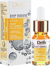 Parfums et Produits cosmétiques Masque à la vitamine E et huile d'argan pour visage - Delia Cosmetics Keep Natural Nourishing Serum