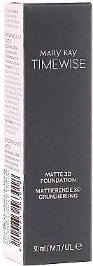 Fond de teint matifiant - Mary Kay Timewise Matte 3D Foundation
