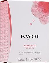 Parfums et Produits cosmétiques Masque-peeling oxygénante et détoxifiante pour le visage - Payot Les Demaquillantes Peeling Oxygenant Depolluant Bubble Mask