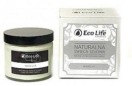 Parfums et Produits cosmétiques Bougie parfumée en cire de soja naturelle, Vanille - Eco Life Candles