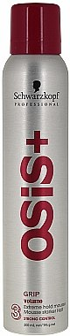 Mousse coiffante, Tenue forte - Schwarzkopf Professional Osis+ 3 Grip Volume Extreme Hold Mousse — Photo N1
