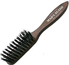 Parfums et Produits cosmétiques Brosse à barbe et moustache avec manche - Man'S Beard Beard And Mustache Brush
