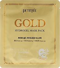 Parfums et Produits cosmétiques Masque hydrogel à l'or pour visage - Petitfee&Koelf Gold Hydrogel Mask Pack +5 Golden Complex
