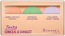 Parfums et Produits cosmétiques Palette de correcteurs - Rimmel Insta Conceal & Correct Palette