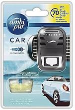 Parfums et Produits cosmétiques Ambi Pur - Set (diffuseur de parfum pour voiture/1pcs + recharge/7ml)
